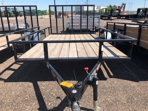 2019 H&H H&H 82X12 3.5K STEEL RAIL SIDE TRAILER in Scottsbluff, Nebraska