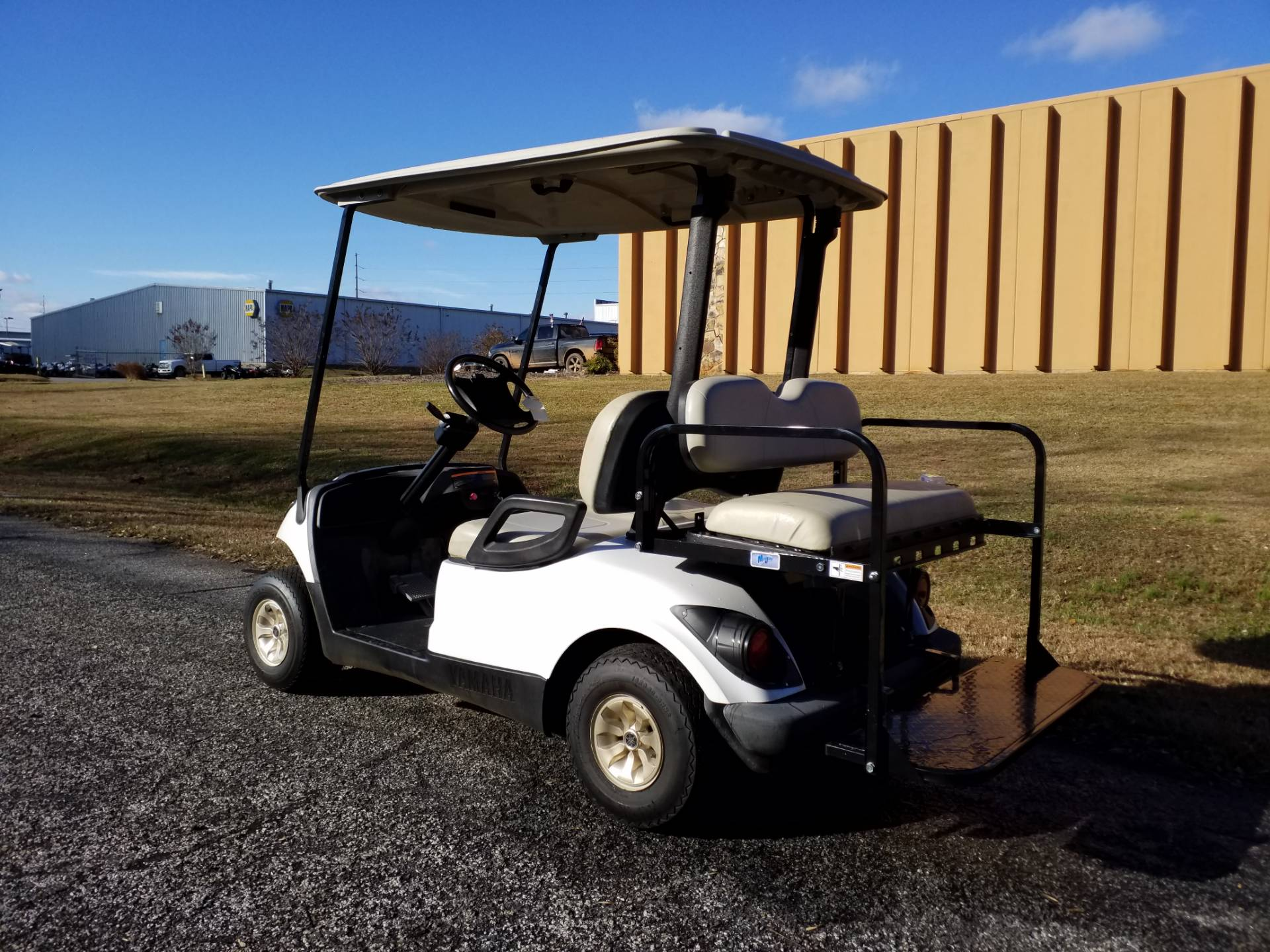 2014 Yamaha Gas Fleet Golf Car in Covington, Georgia - Photo 3