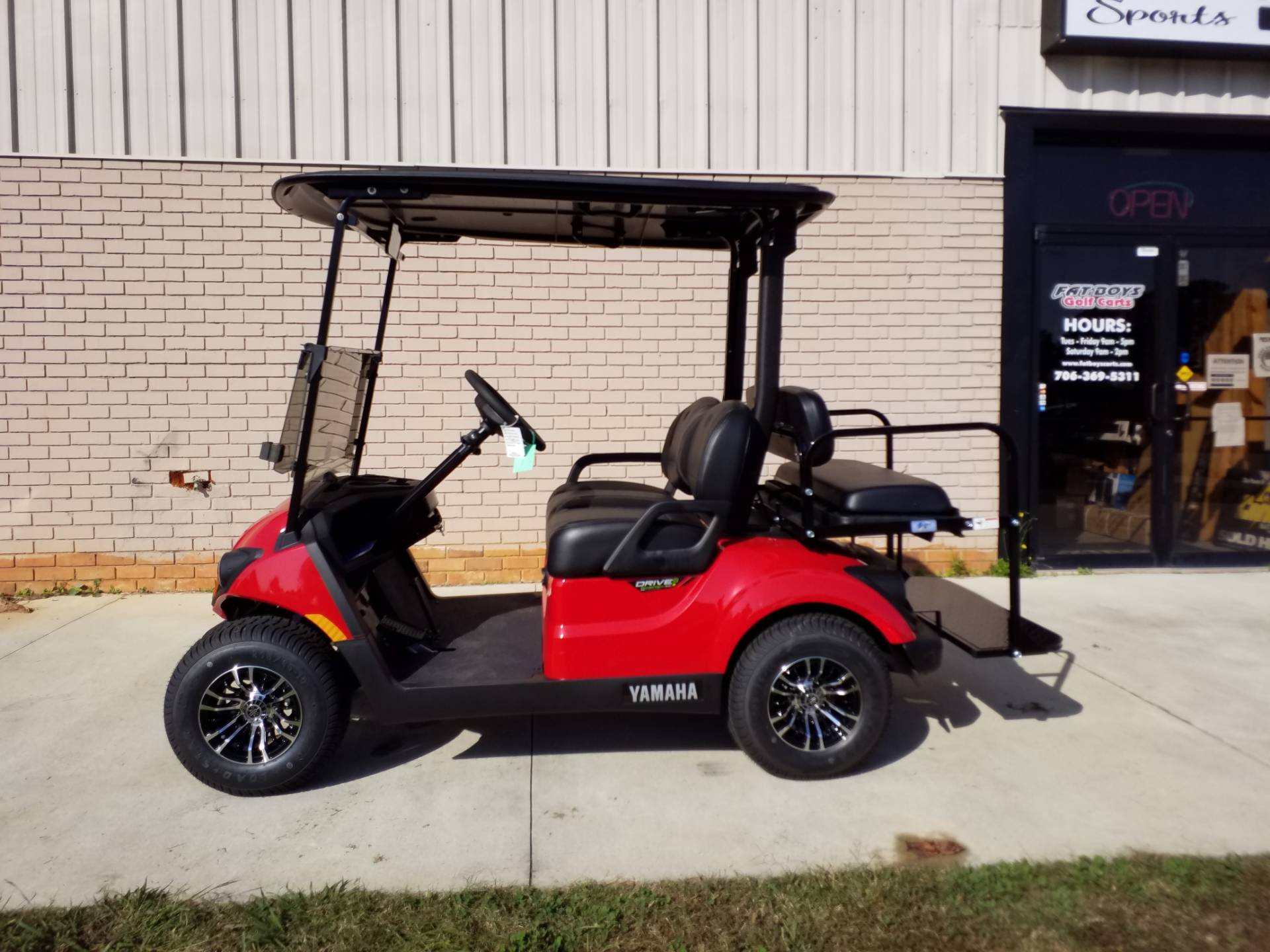 2021 Yamaha Drive2 PTV PowerTech AC in Covington, Georgia - Photo 2