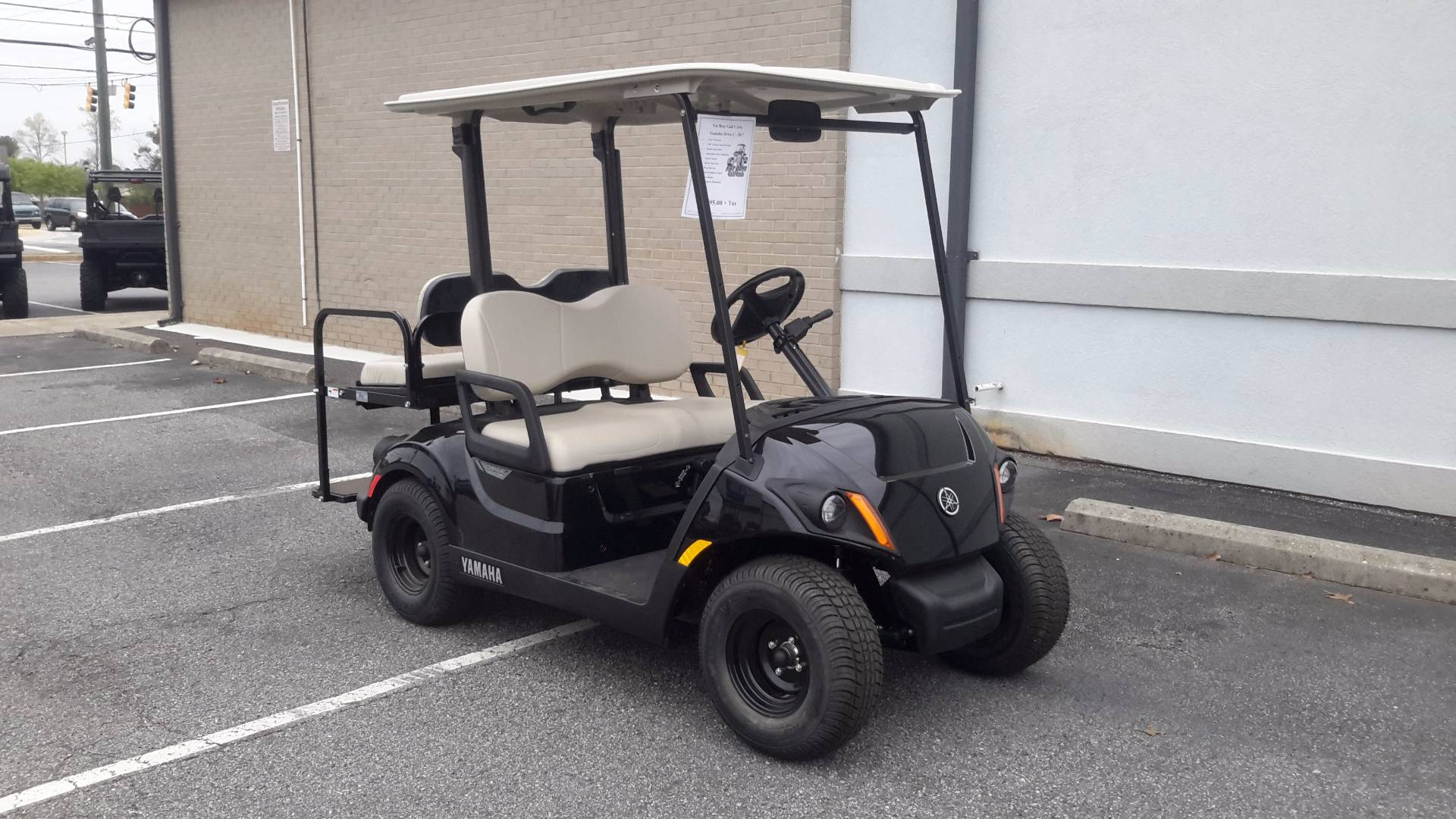 2017 Yamaha The Drive2 PTV (Gas) in Covington, Georgia