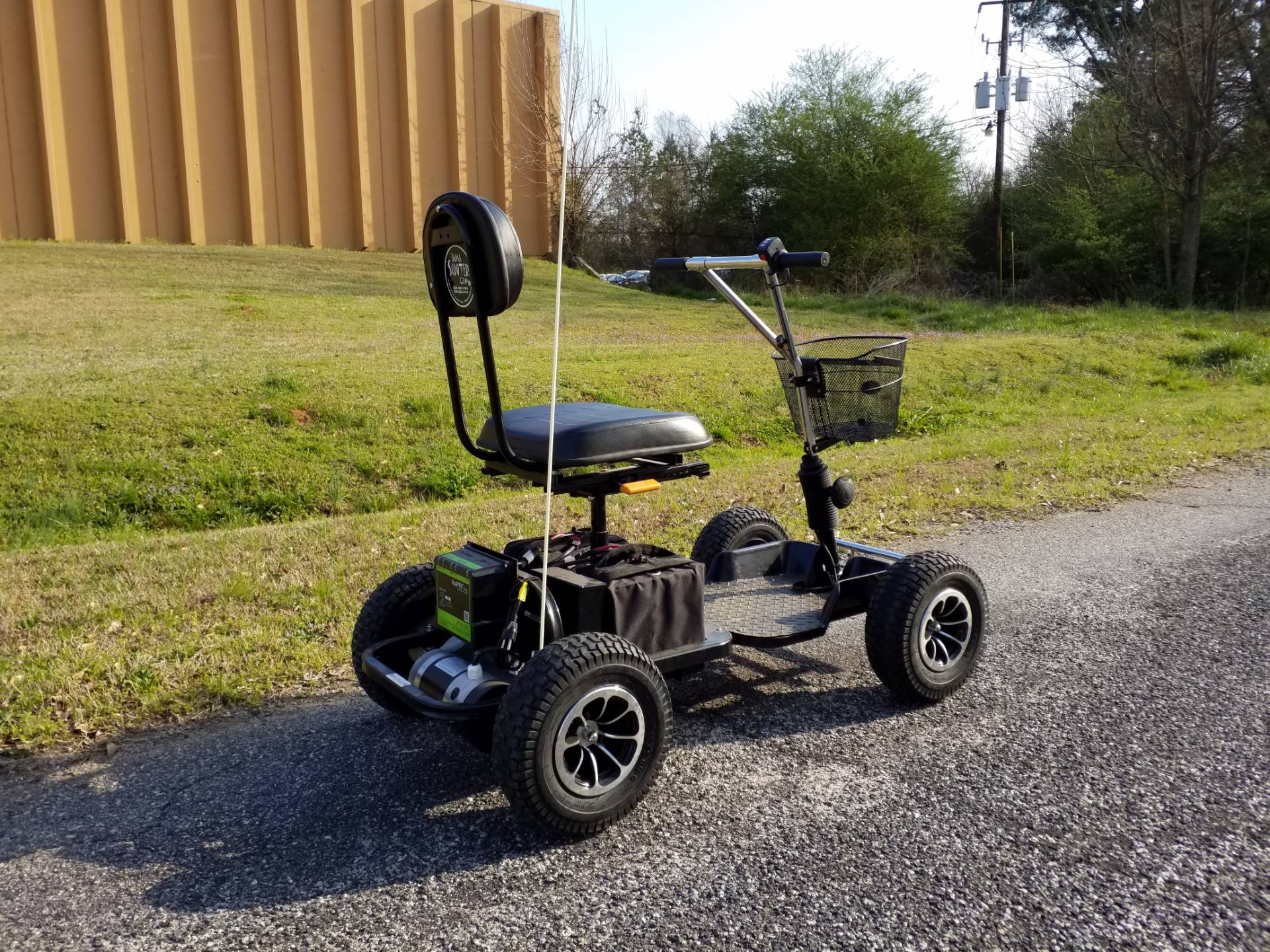 2018 BAMA SCOOTER GROUND HOG 350 in Covington, Georgia - Photo 3