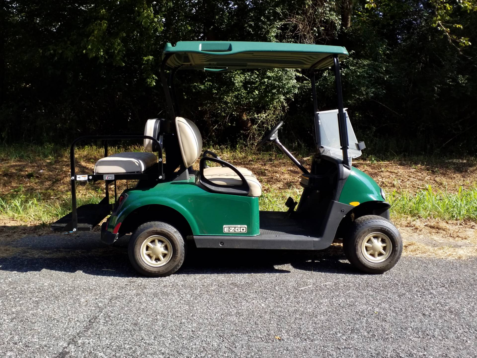 2017 E-Z-Go Golf Freedom RXV Electric in Covington, Georgia - Photo 2