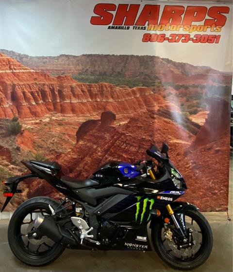 2020 Yamaha YZF-R3 Monster Energy Yamaha MotoGP Edition in Amarillo, Texas - Photo 1