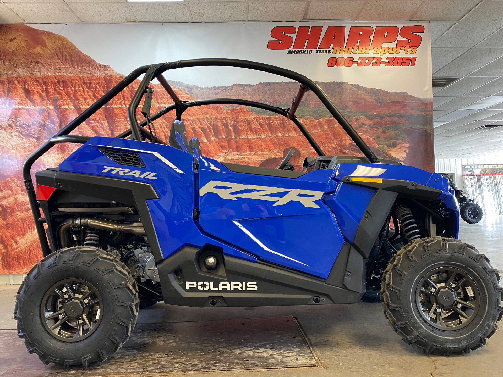 2021 Polaris RZR Trail Premium in Amarillo, Texas - Photo 1