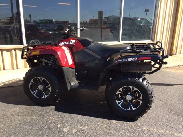 2013 Arctic Cat 550 Limited in Amarillo, Texas