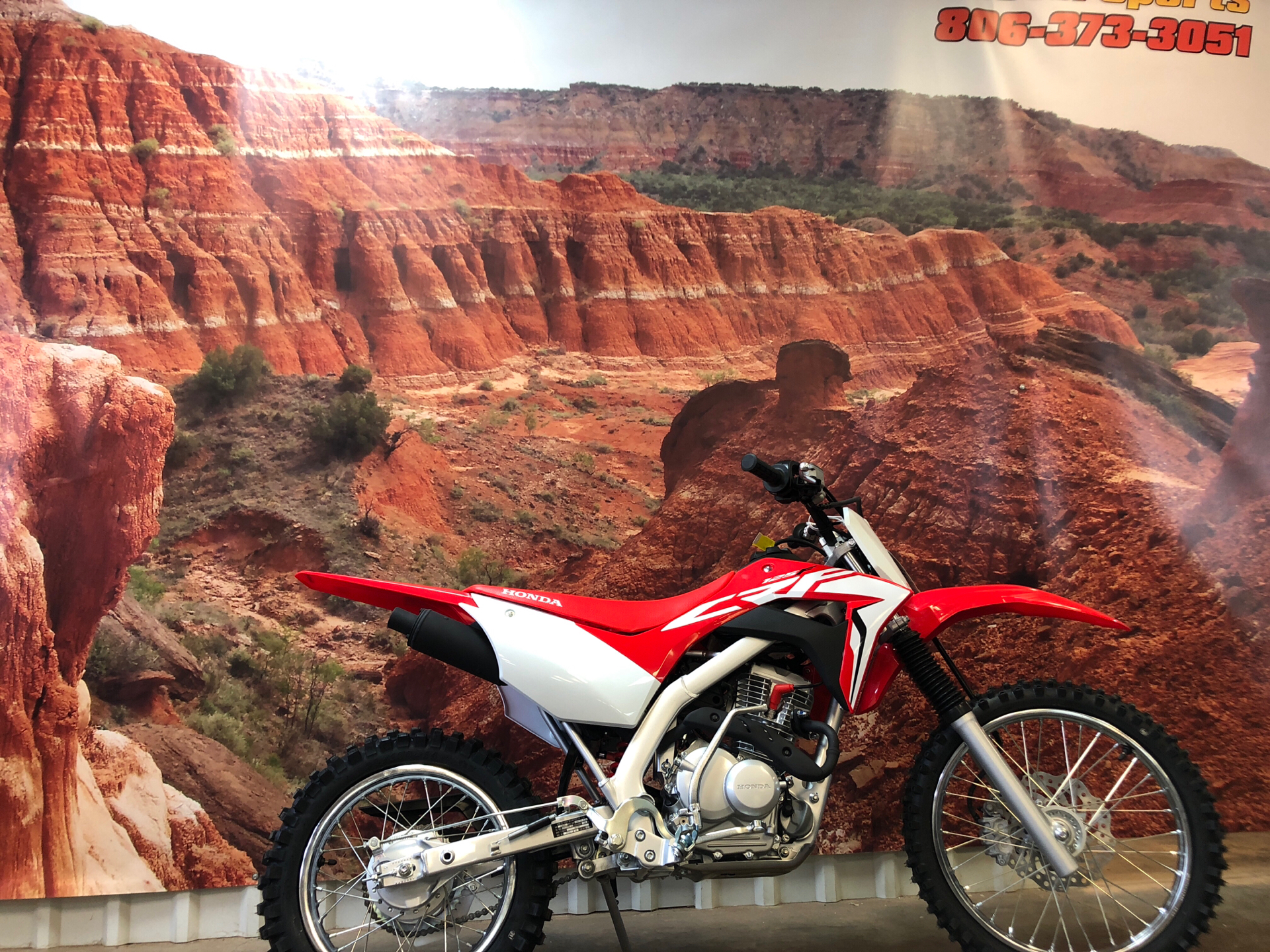2021 Honda CRF125F in Amarillo, Texas - Photo 1