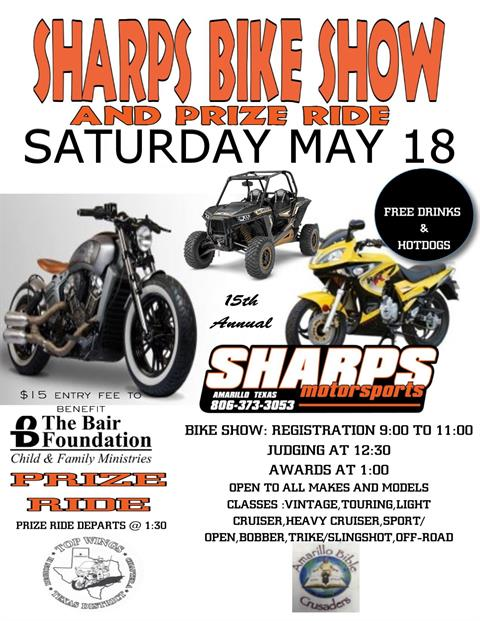 Sharp's Bike Show and Prize Ride
