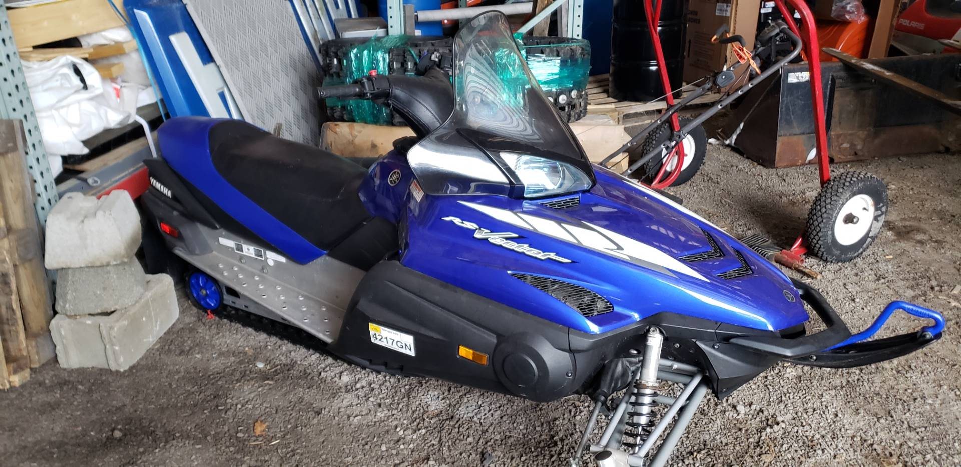 2005 Yamaha RS Vector ER in Speculator, New York - Photo 1
