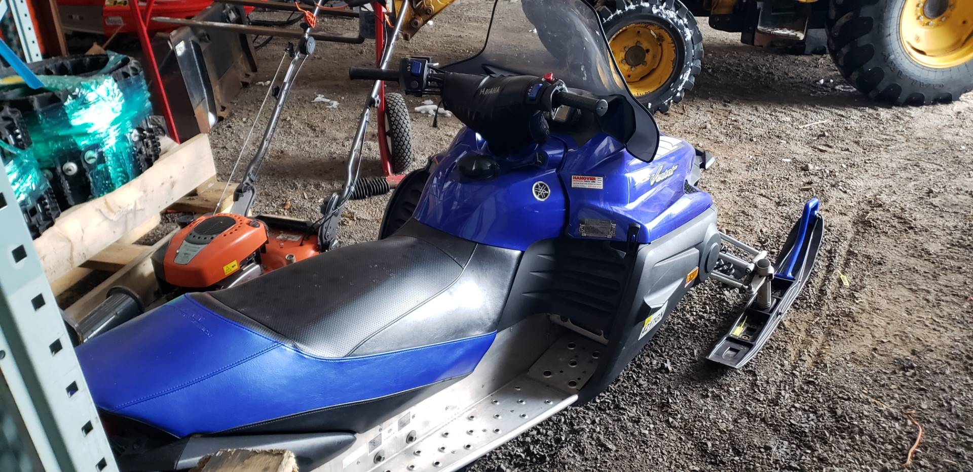 2005 Yamaha RS Vector ER in Speculator, New York - Photo 5