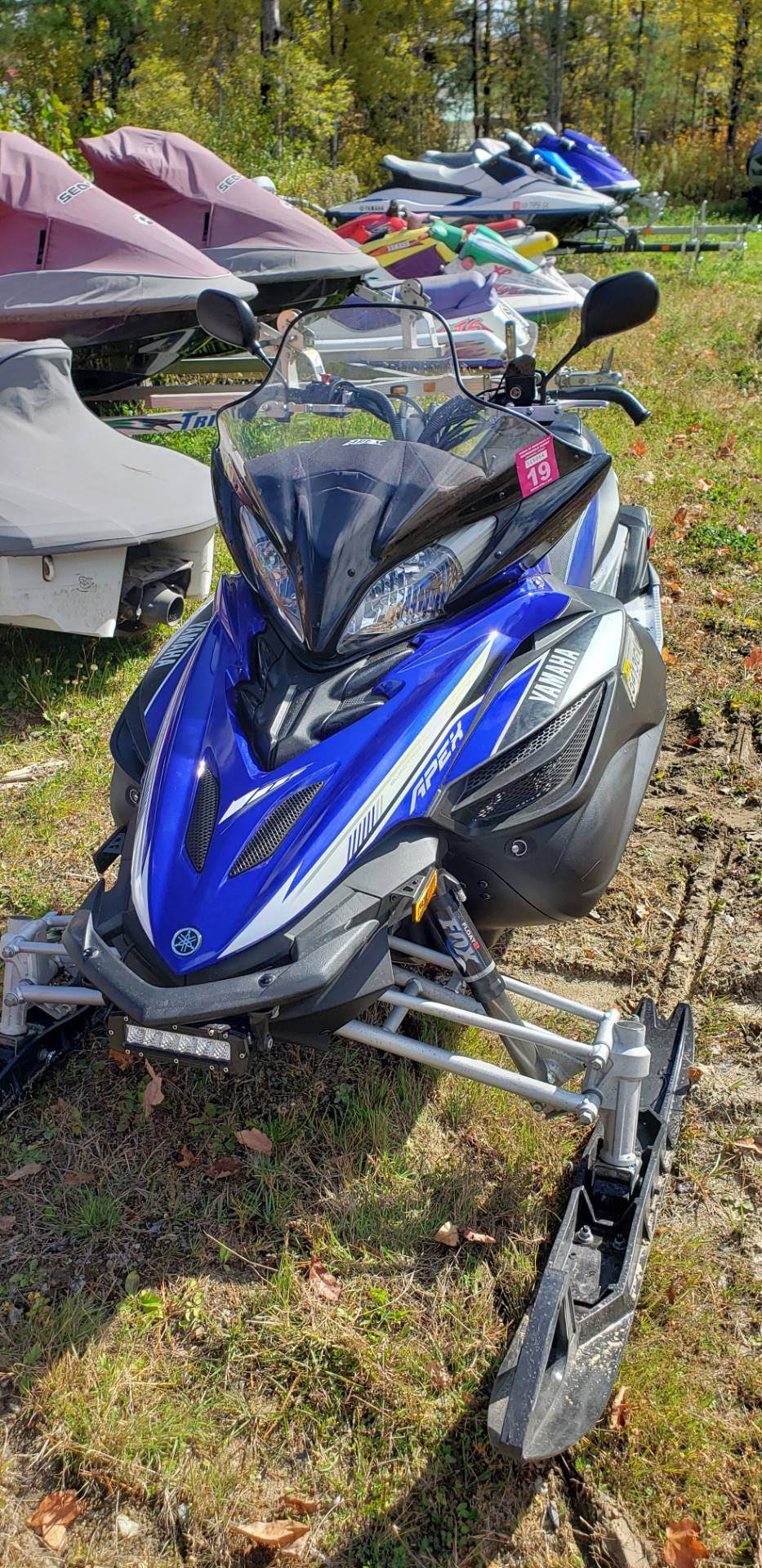 2014 Yamaha Apex® SE in Speculator, New York - Photo 1