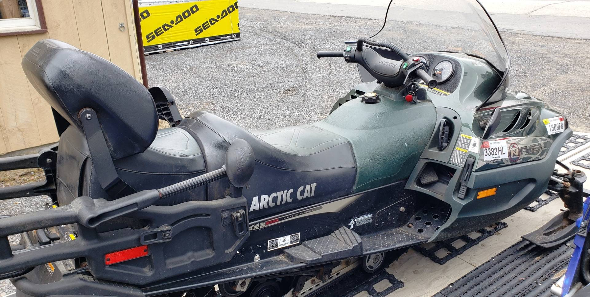 2001 Arctic Cat Panther® 550 in Speculator, New York - Photo 3