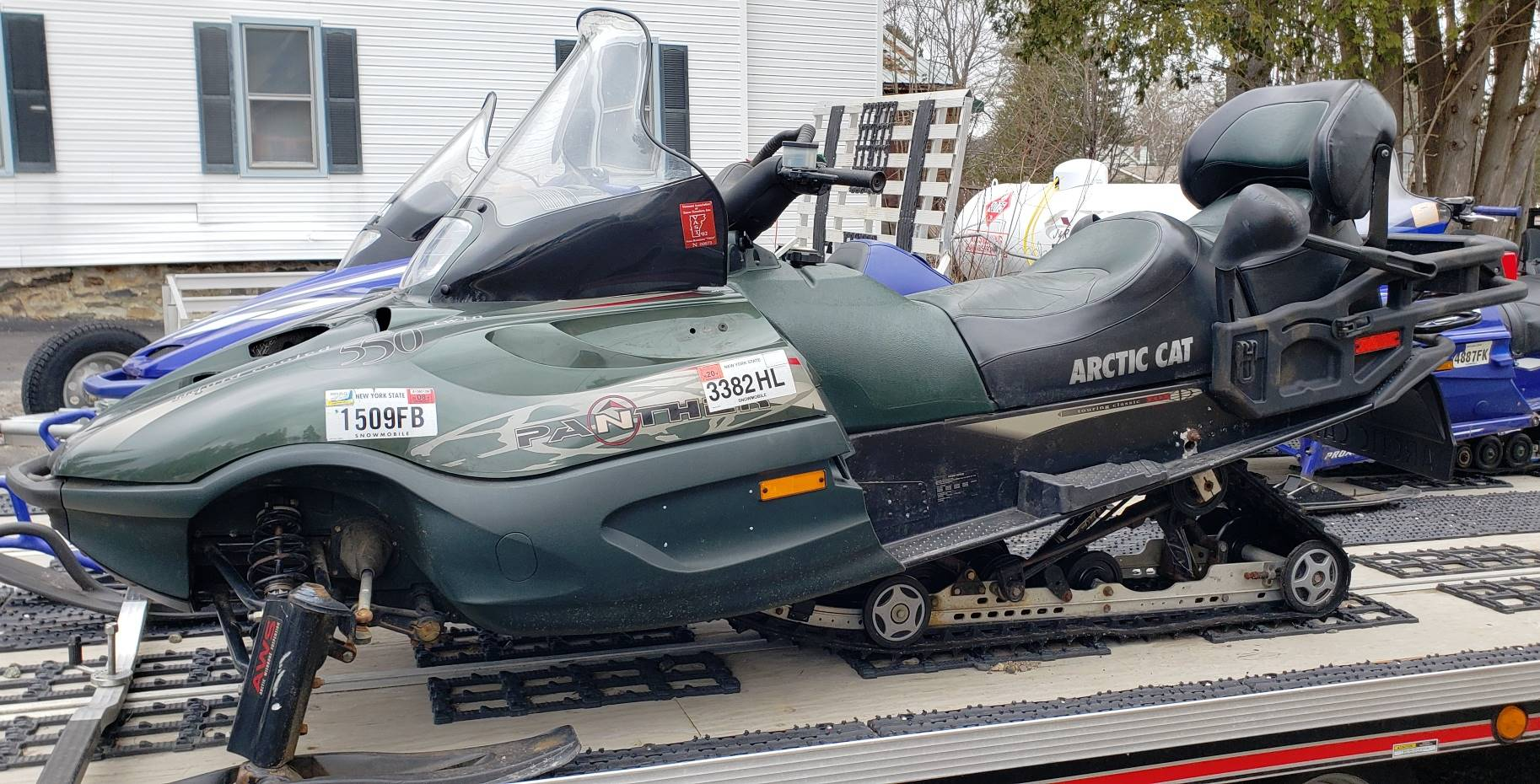 2001 Arctic Cat Panther® 550 in Speculator, New York - Photo 1