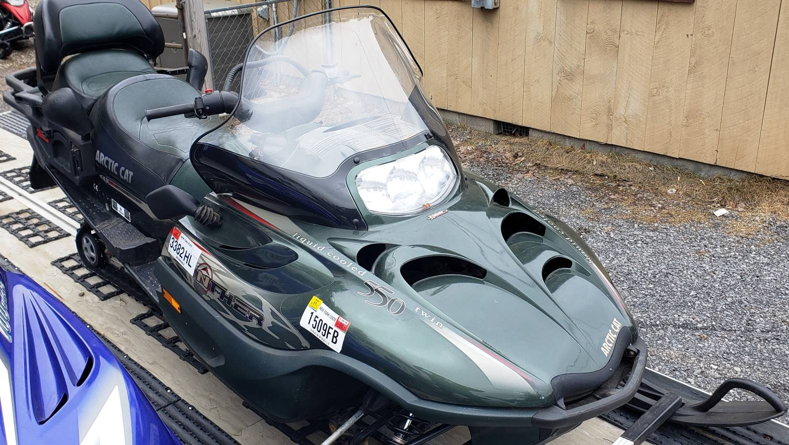 2001 Arctic Cat Panther® 550 in Speculator, New York - Photo 2