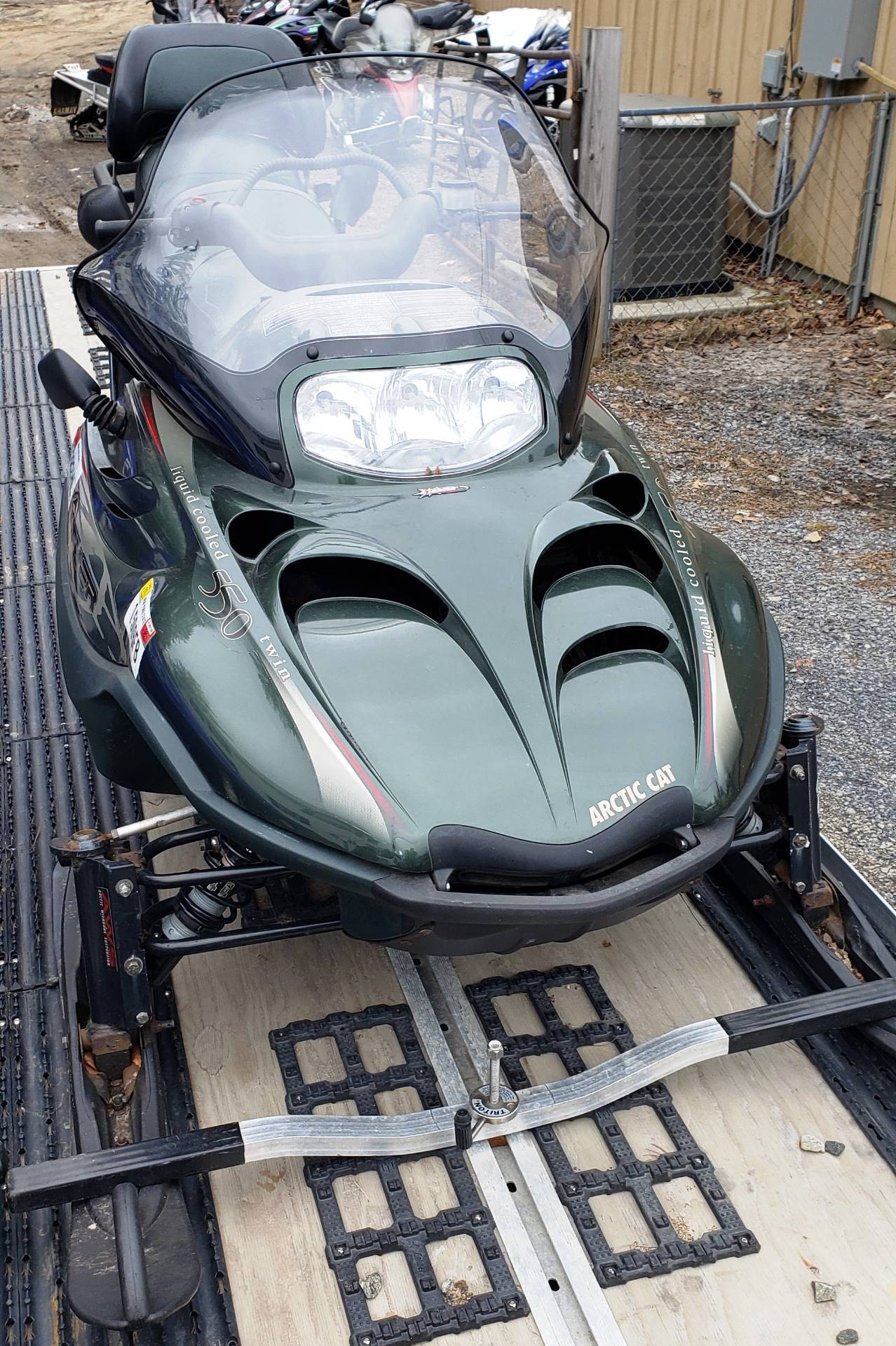 2001 Arctic Cat Panther® 550 in Speculator, New York - Photo 4