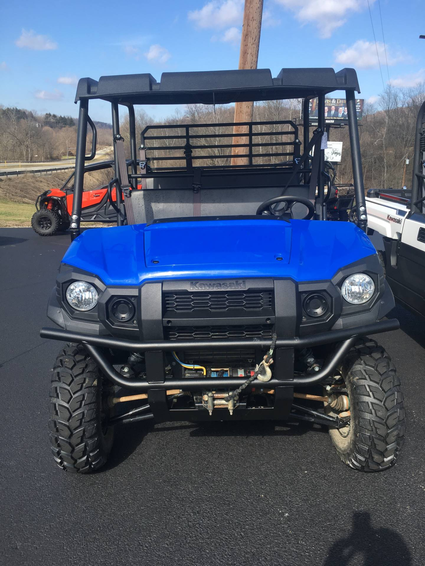 2018 Kawasaki Mule PRO-FXT EPS in Smock, Pennsylvania - Photo 1