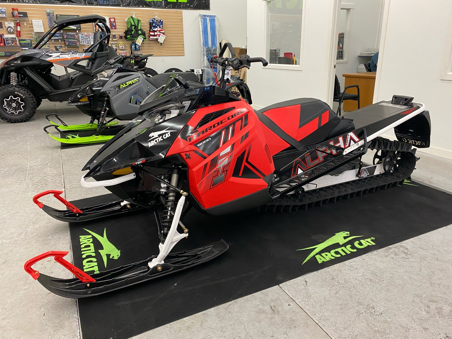 2021 Arctic Cat M 8000 Hardcore Alpha One 154 2.6 in Bellingham, Washington - Photo 1