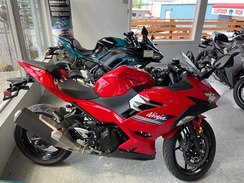2021 Kawasaki Ninja 400 in Bellingham, Washington - Photo 1