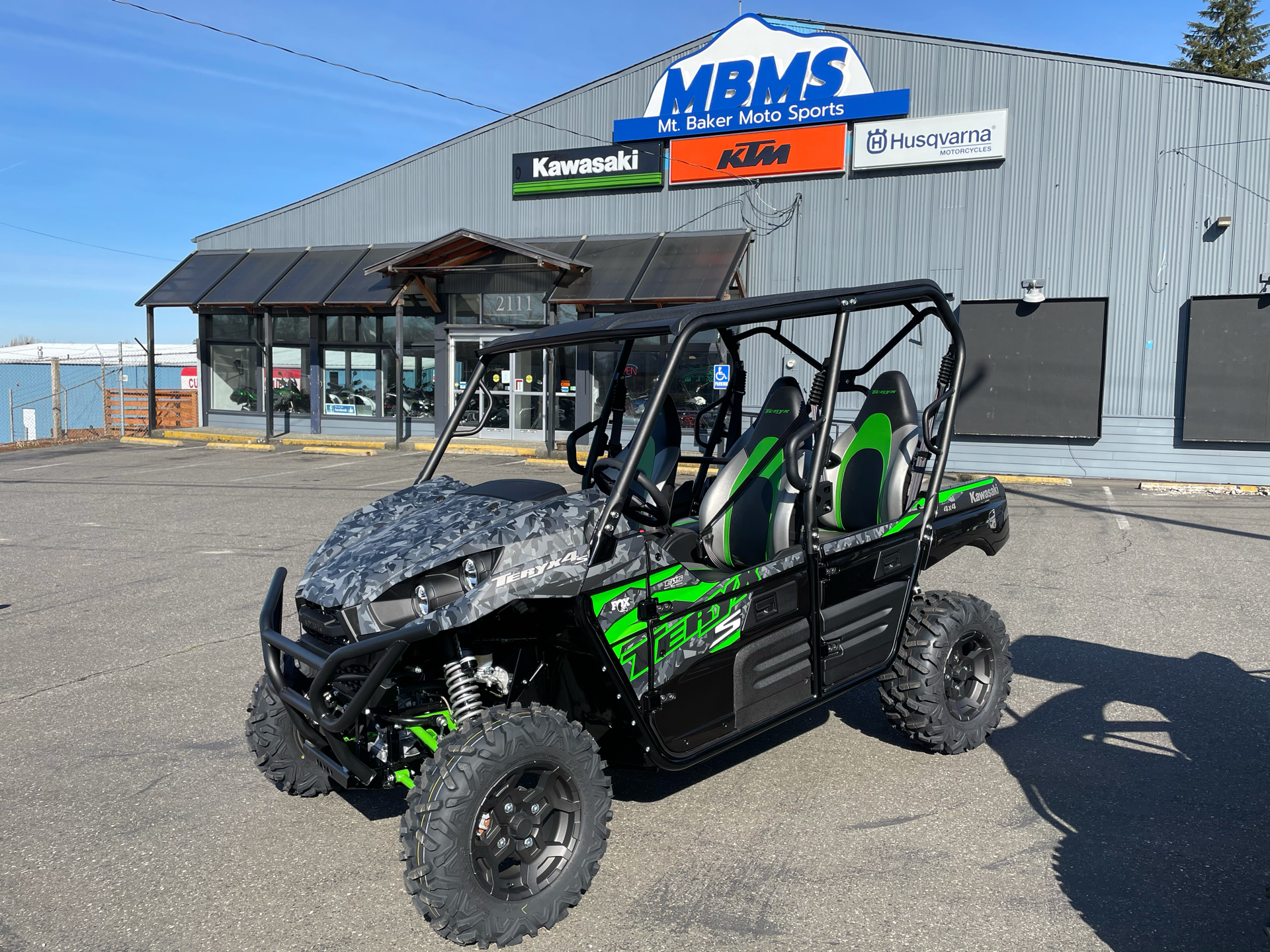 2021 Kawasaki Teryx4 S LE in Bellingham, Washington - Photo 1