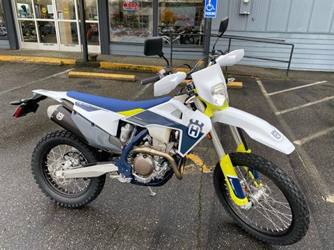 2021 Husqvarna FE 350s in Bellingham, Washington - Photo 1