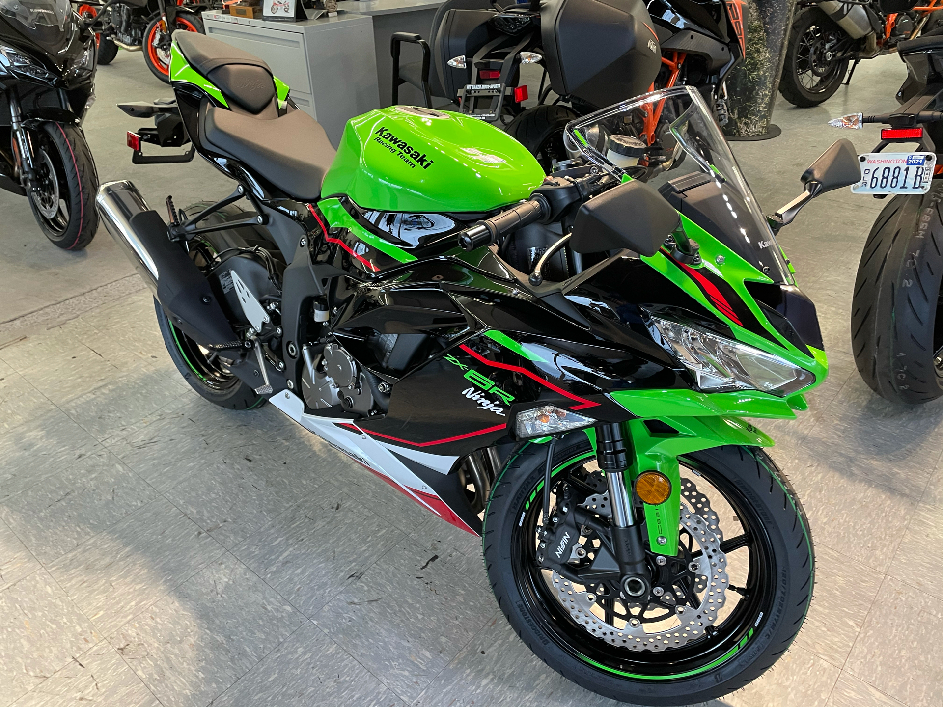 2021 Kawasaki Ninja ZX-6R ABS KRT Edition in Bellingham, Washington - Photo 3