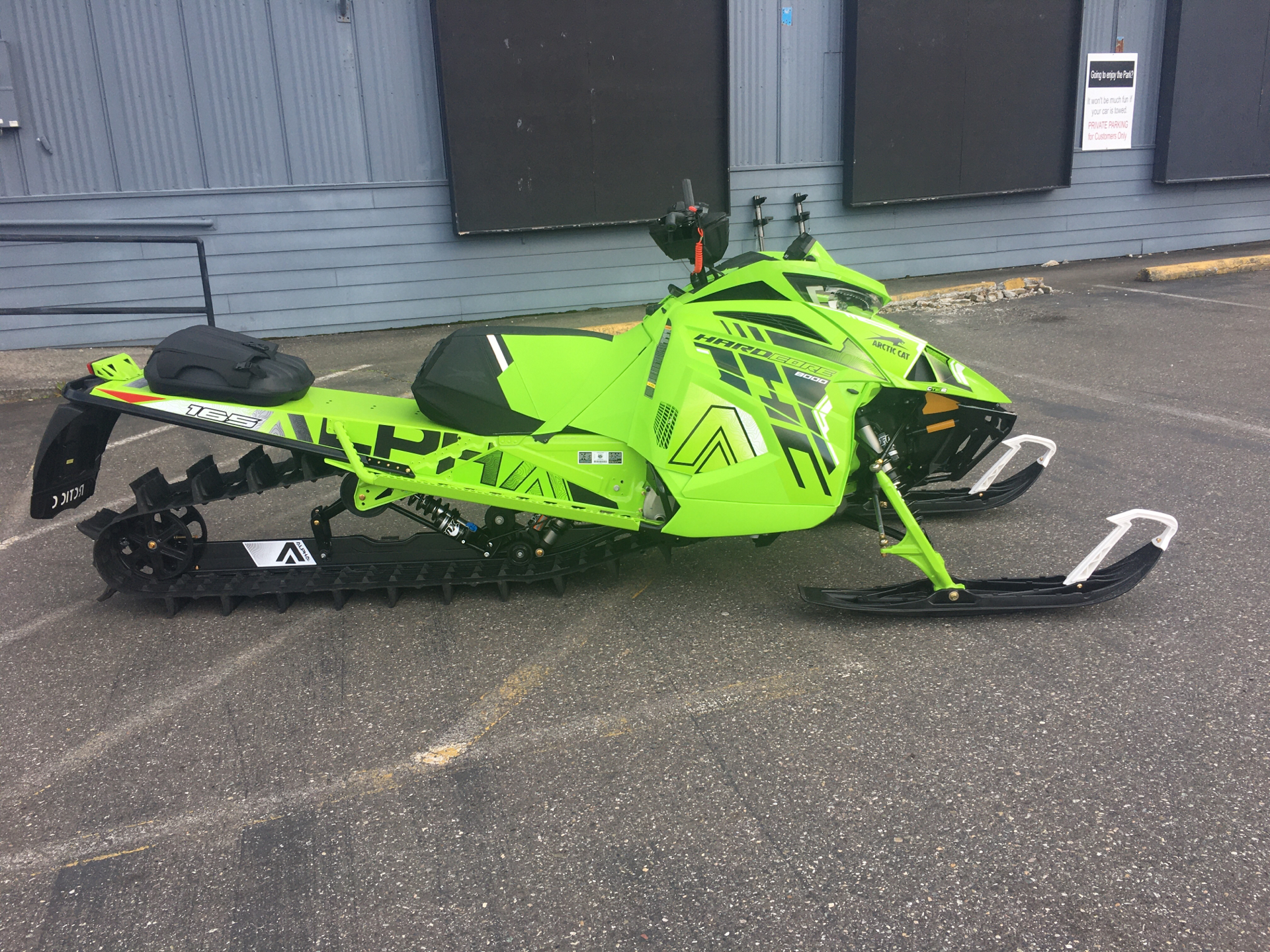 2022 Arctic Cat M 8000 Hardcore Alpha One 165 3.0 with Kit in Bellingham, Washington - Photo 1