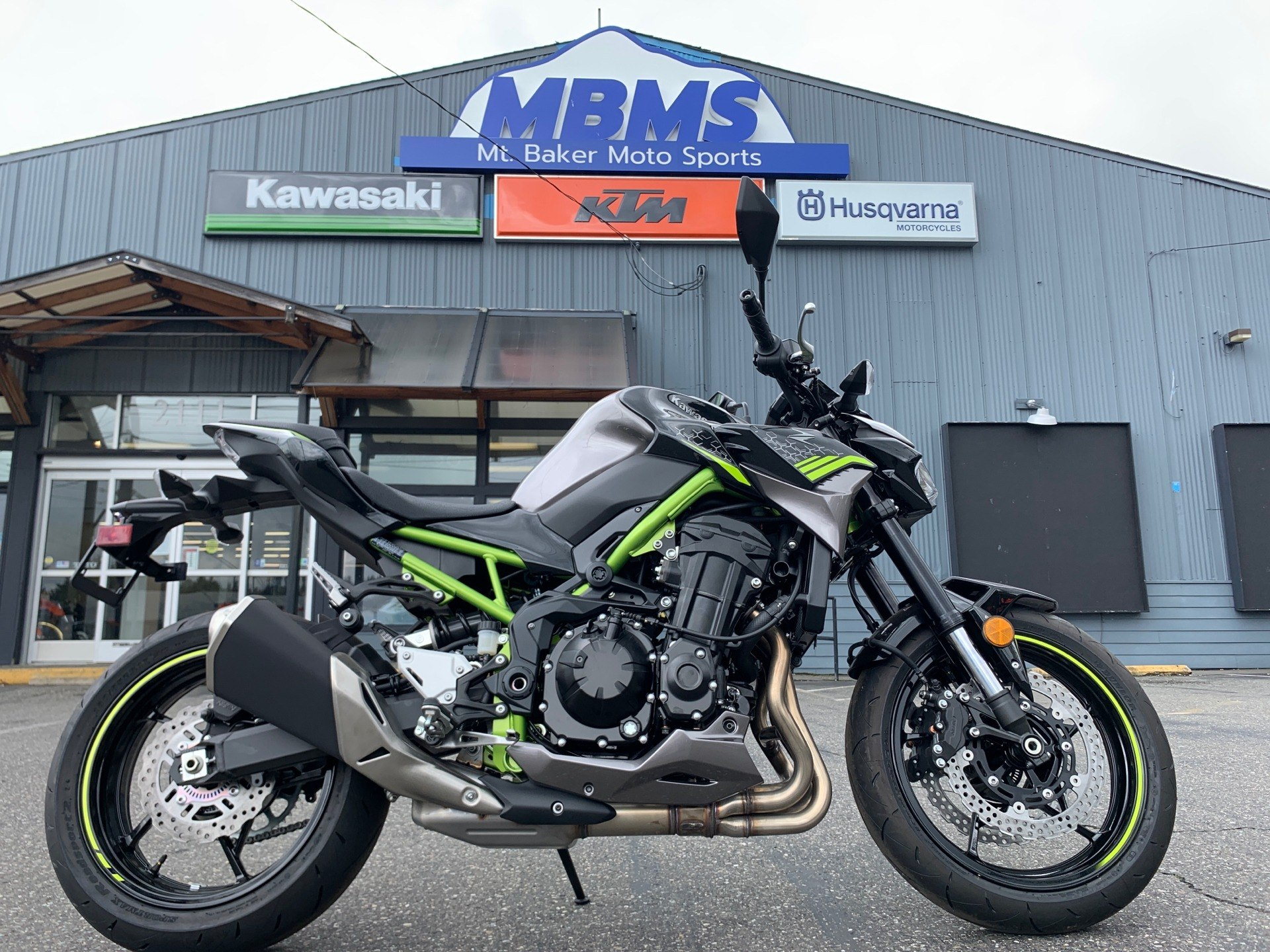 2020 Kawasaki Z900 ABS in Bellingham, Washington - Photo 1