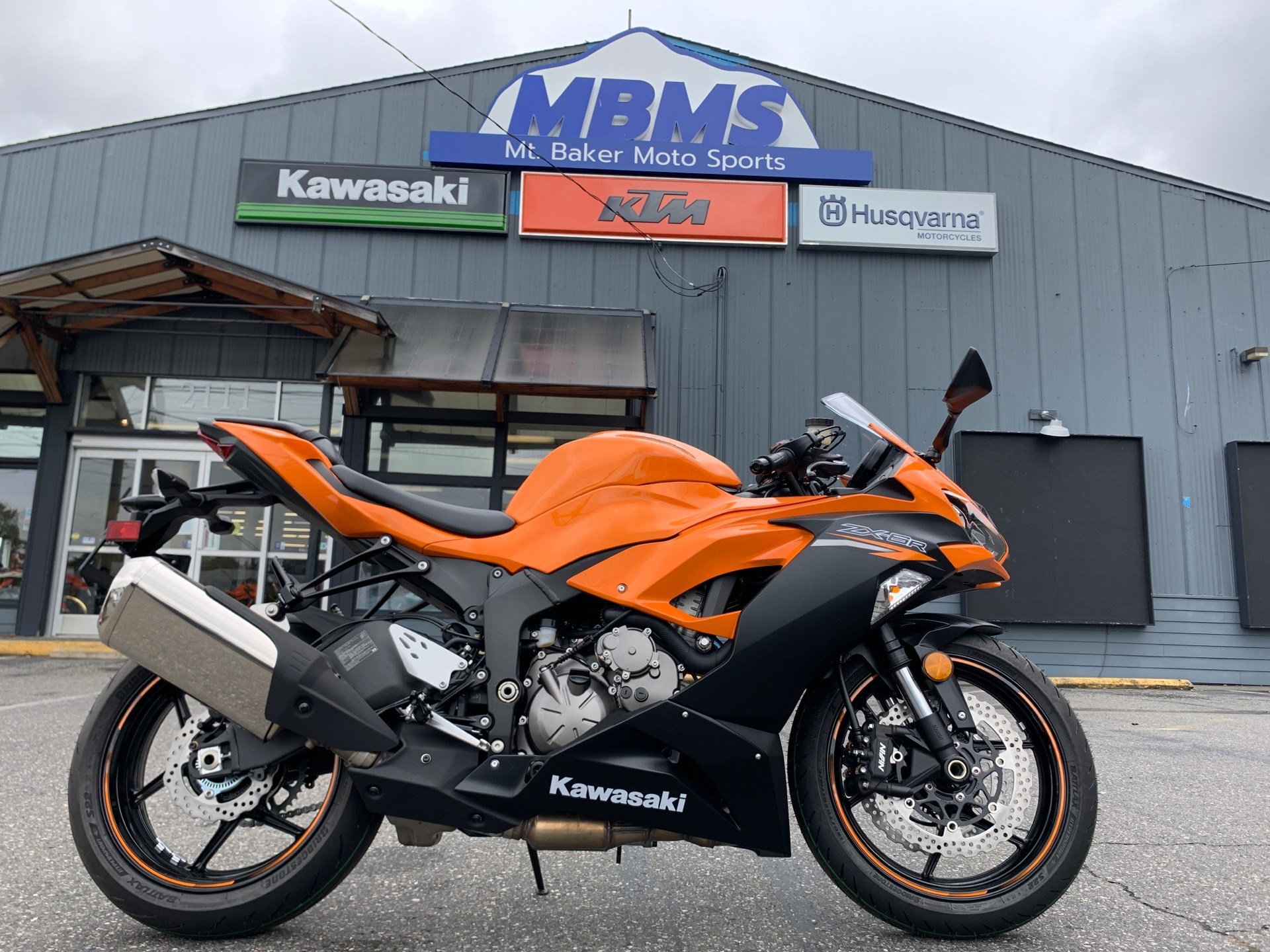 2020 Kawasaki Ninja ZX-6R in Bellingham, Washington - Photo 1