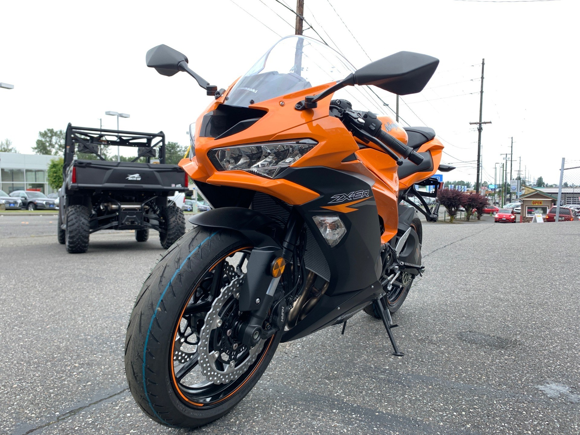 2020 Kawasaki Ninja ZX-6R in Bellingham, Washington - Photo 3