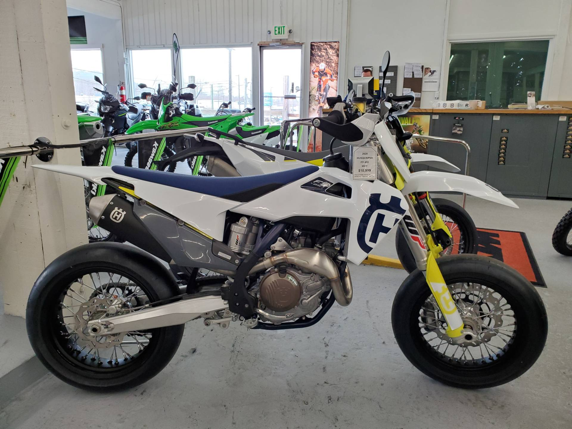 2020 Husqvarna FS 450 in Bellingham, Washington - Photo 6