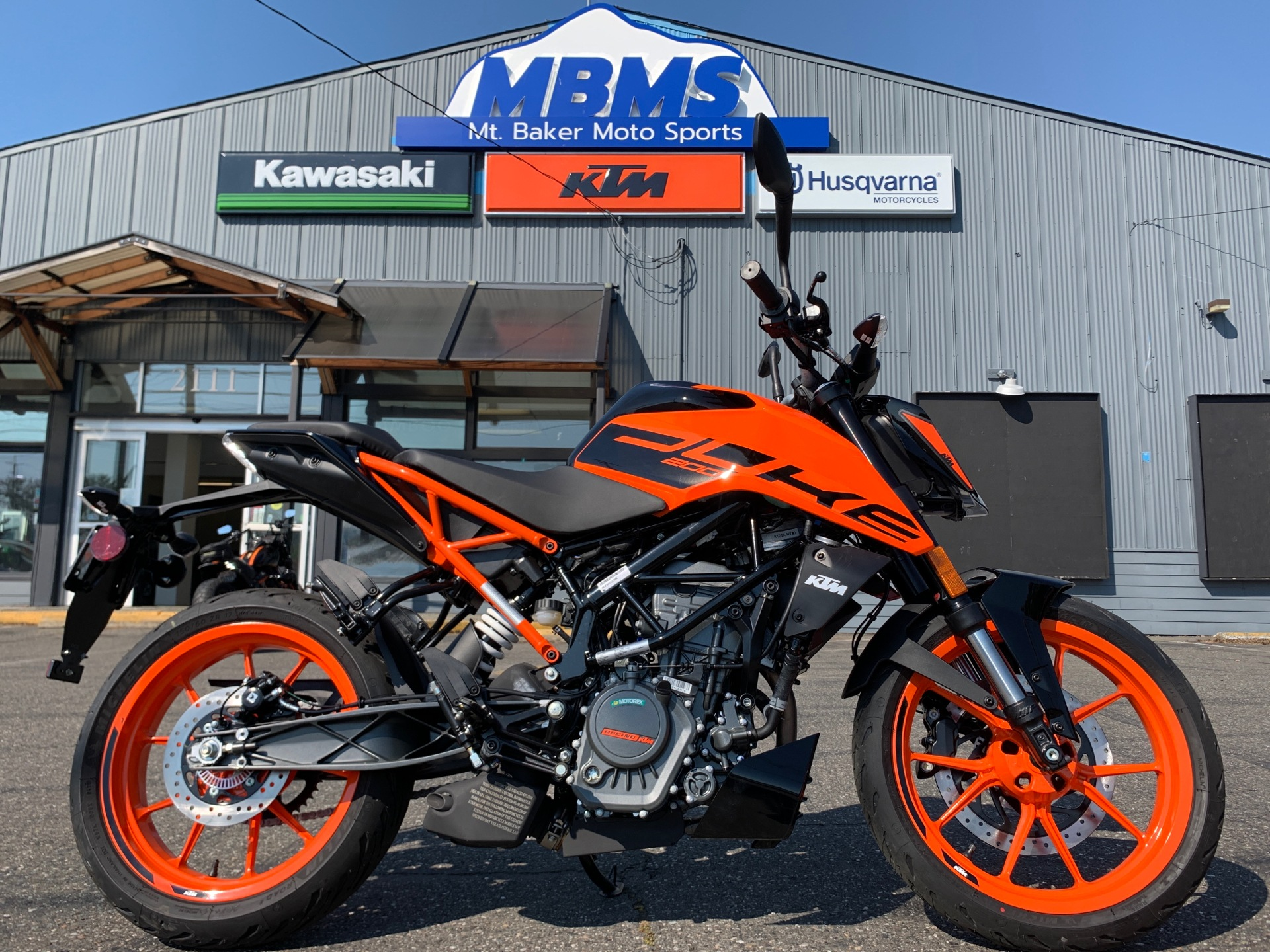 2020 KTM 200 Duke in Bellingham, Washington - Photo 1