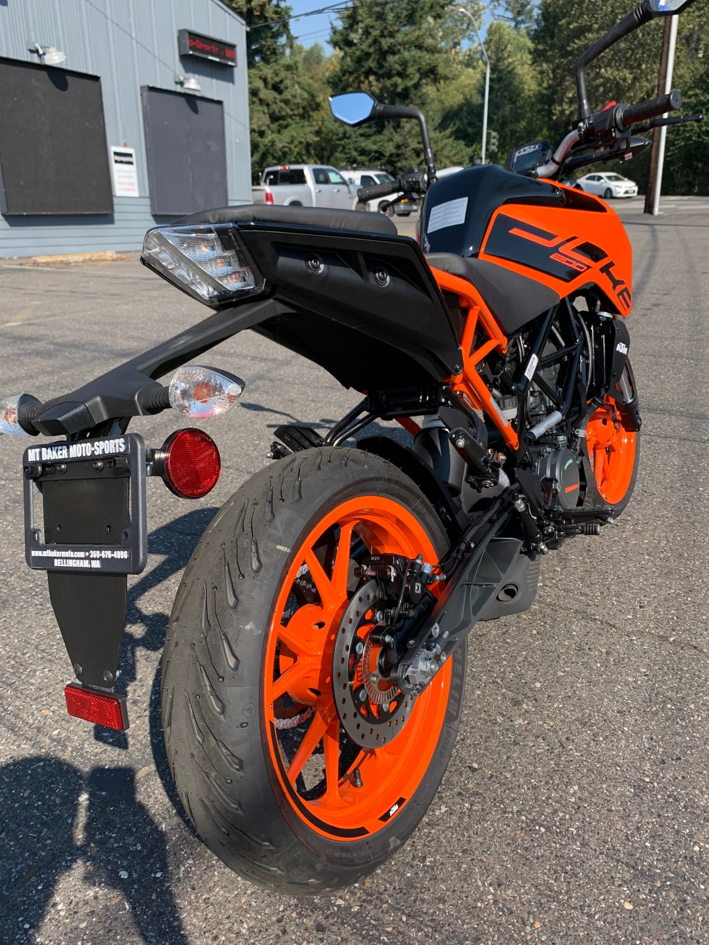 2020 KTM 200 Duke in Bellingham, Washington - Photo 4