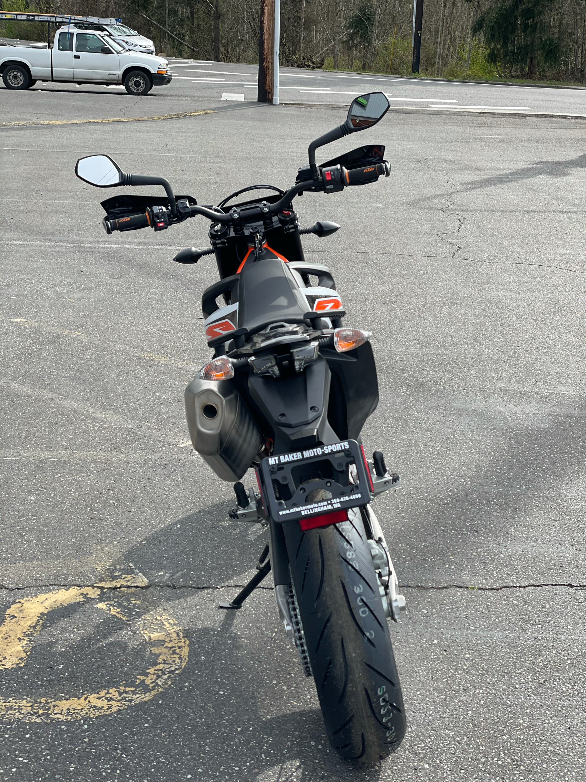 2020 KTM 690 SMC R in Bellingham, Washington - Photo 6