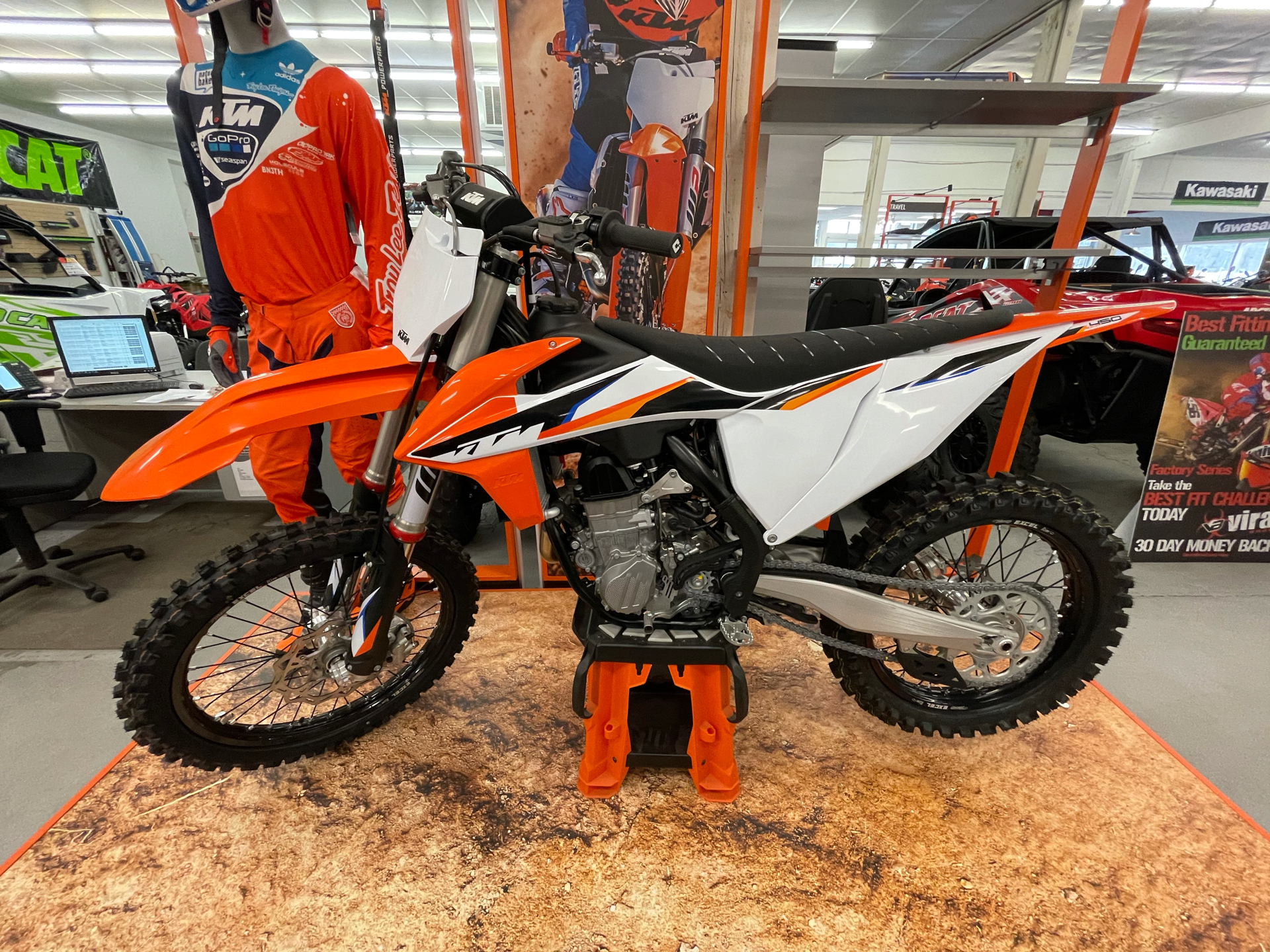 2021 KTM 450 SX-F in Bellingham, Washington - Photo 1