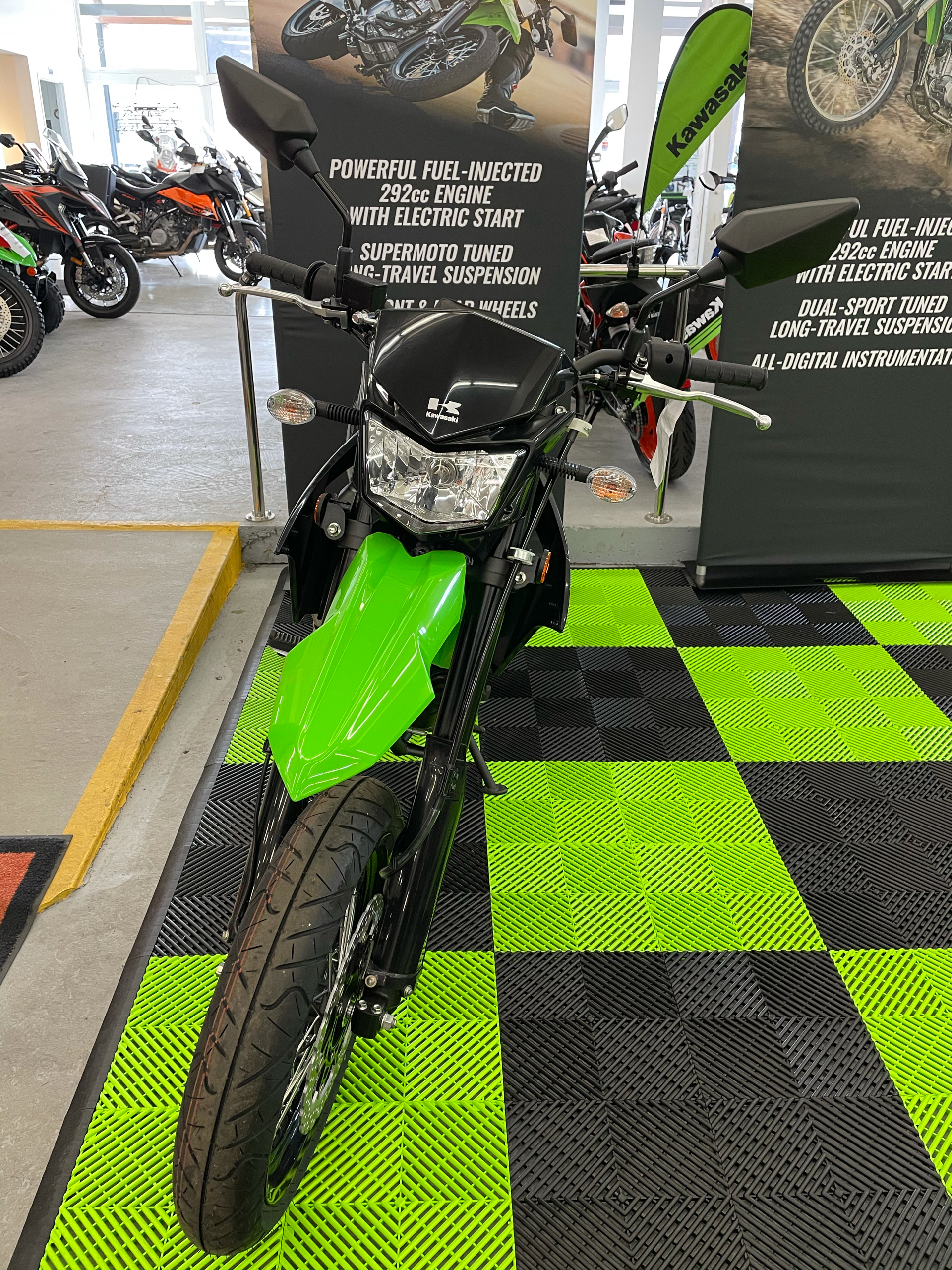 2021 Kawasaki KLX 300SM in Bellingham, Washington - Photo 3