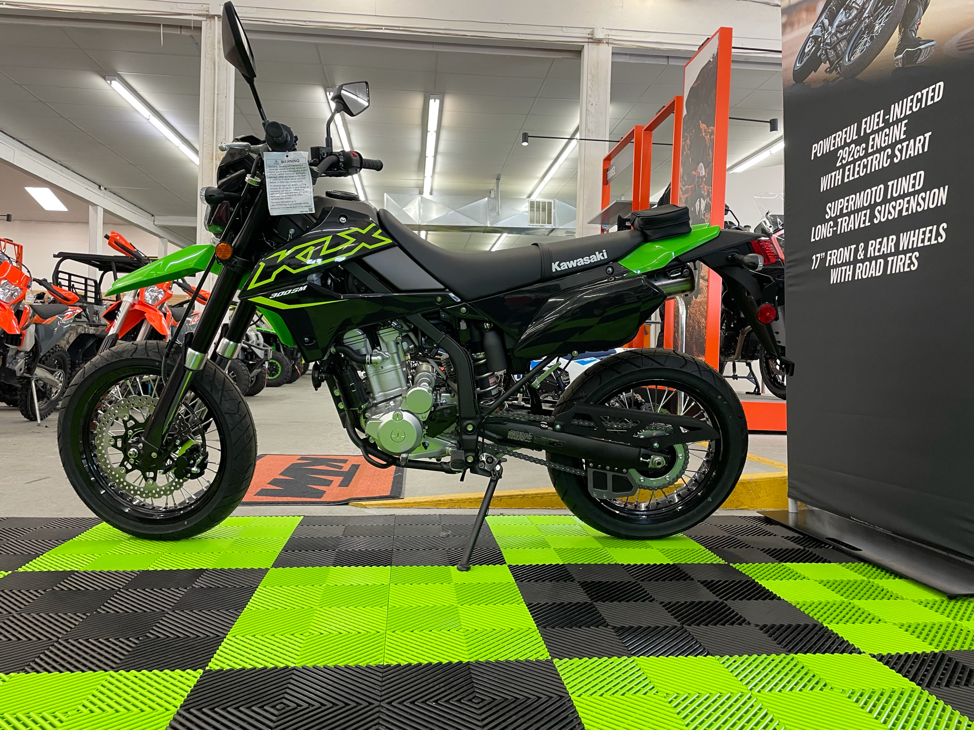 2021 Kawasaki KLX 300SM in Bellingham, Washington - Photo 4