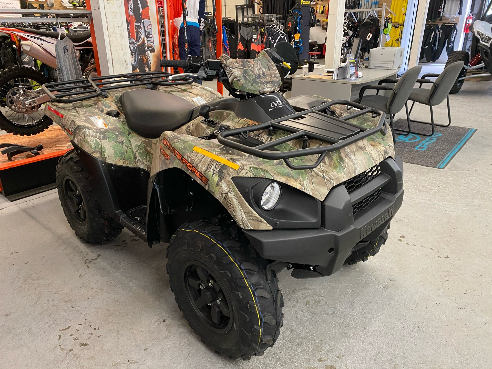2021 Kawasaki Brute Force 750 4x4i EPS Camo in Bellingham, Washington - Photo 1