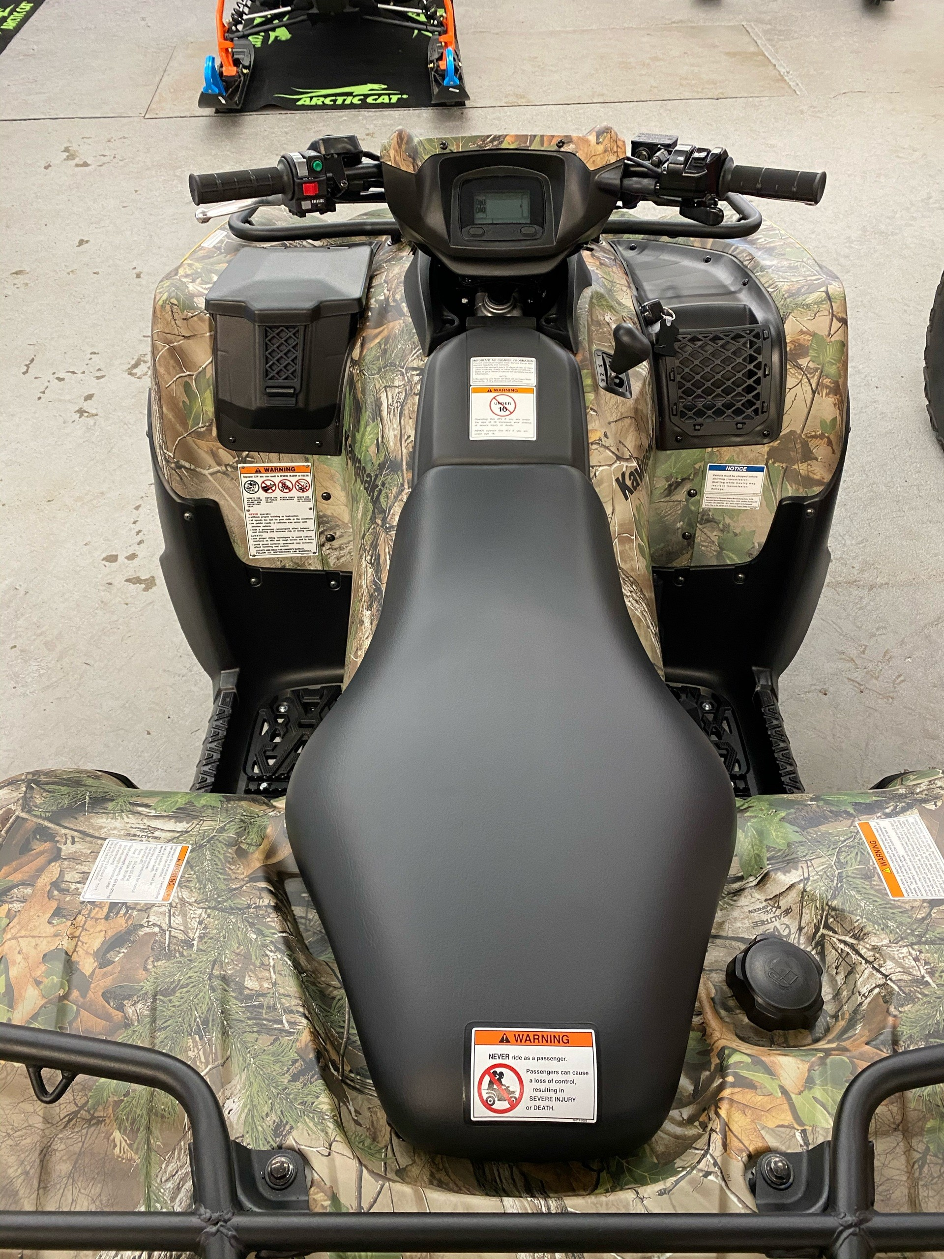 2021 Kawasaki Brute Force 750 4x4i EPS Camo in Bellingham, Washington - Photo 3