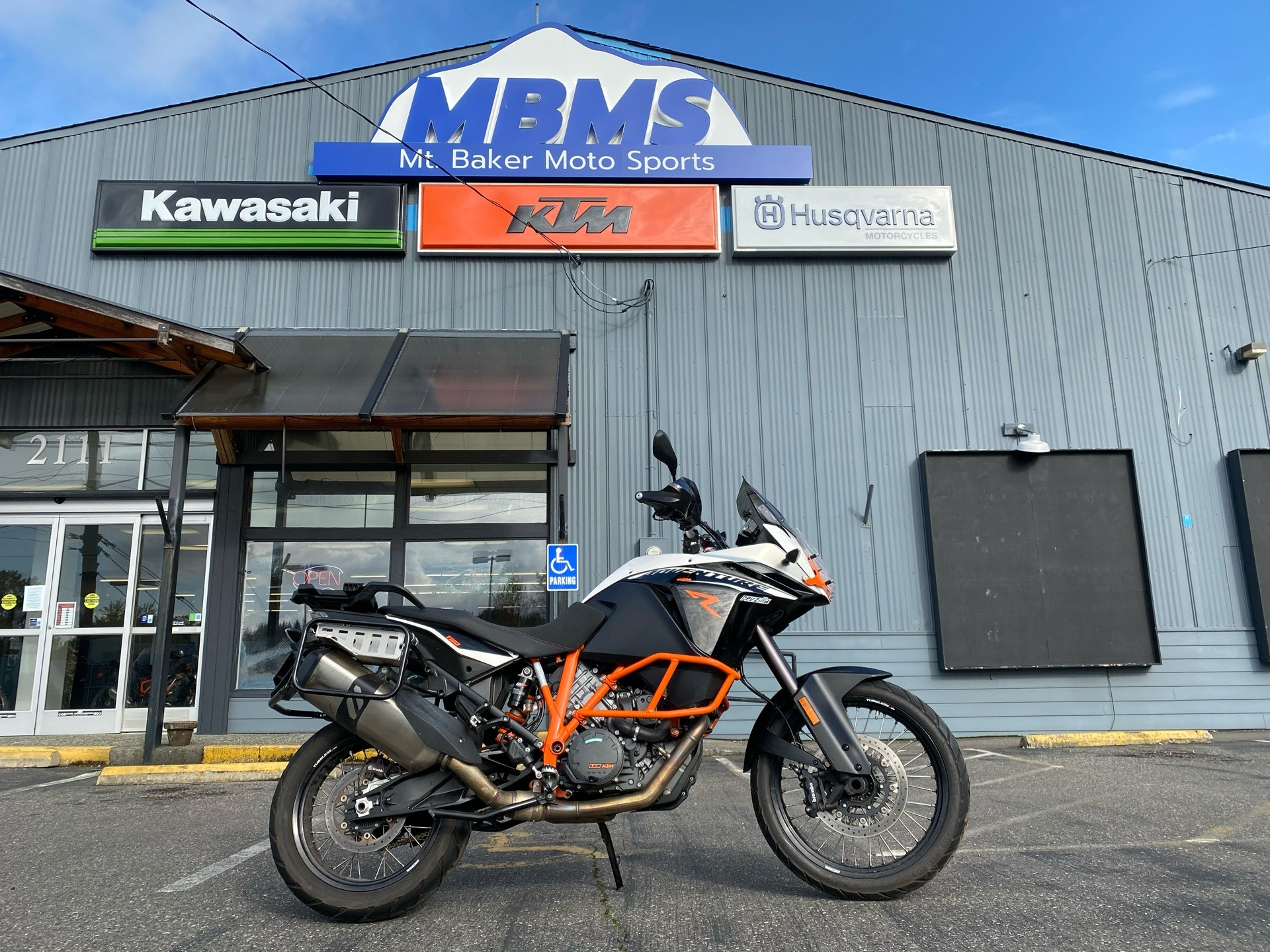 2014 KTM 1190 Adventure R ABS in Bellingham, Washington - Photo 1