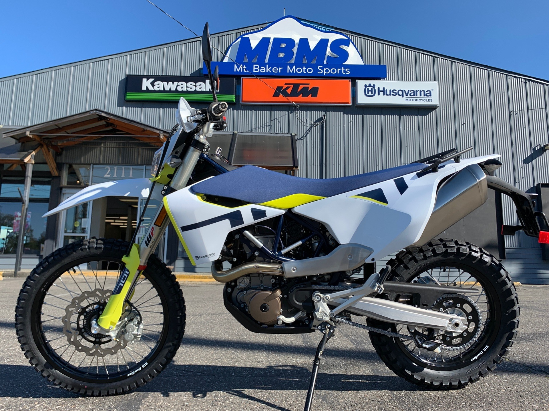 2020 Husqvarna 701 Enduro in Bellingham, Washington - Photo 1