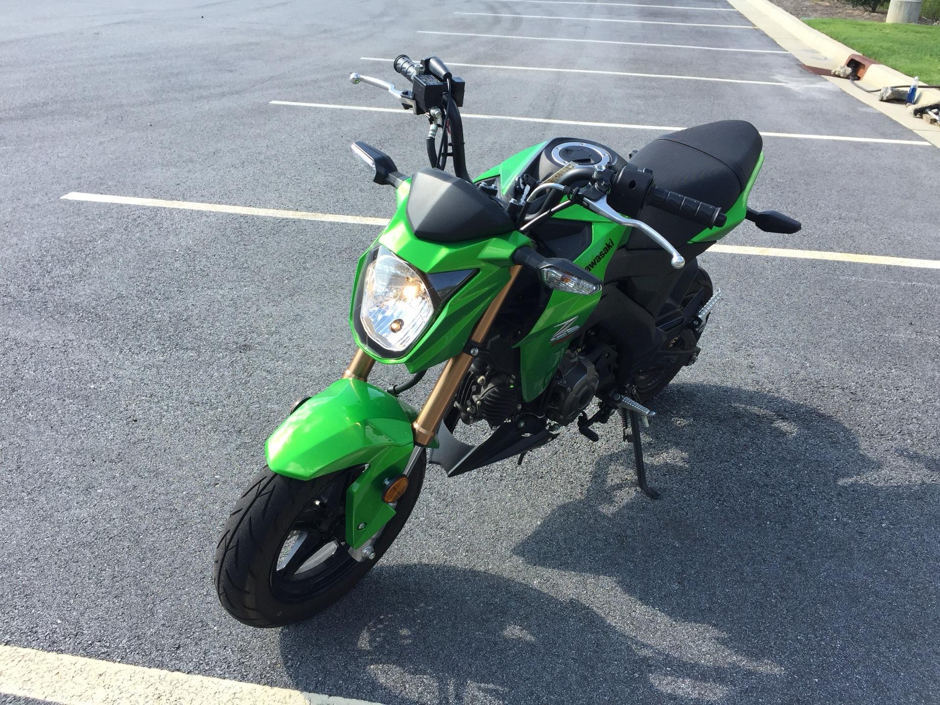 2017 Kawasaki Z125 Pro in Buford, Georgia