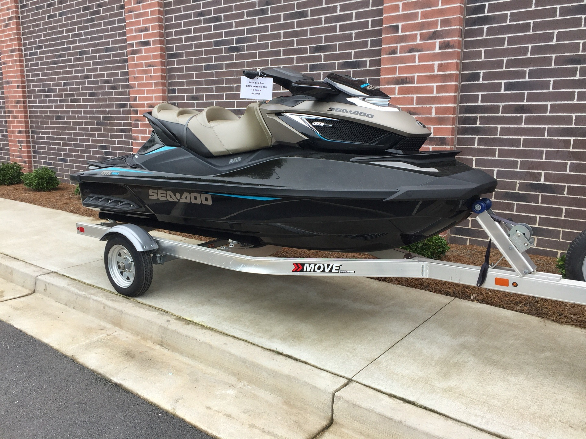 2017 Sea-Doo GTX Limited S 260 in Buford, Georgia