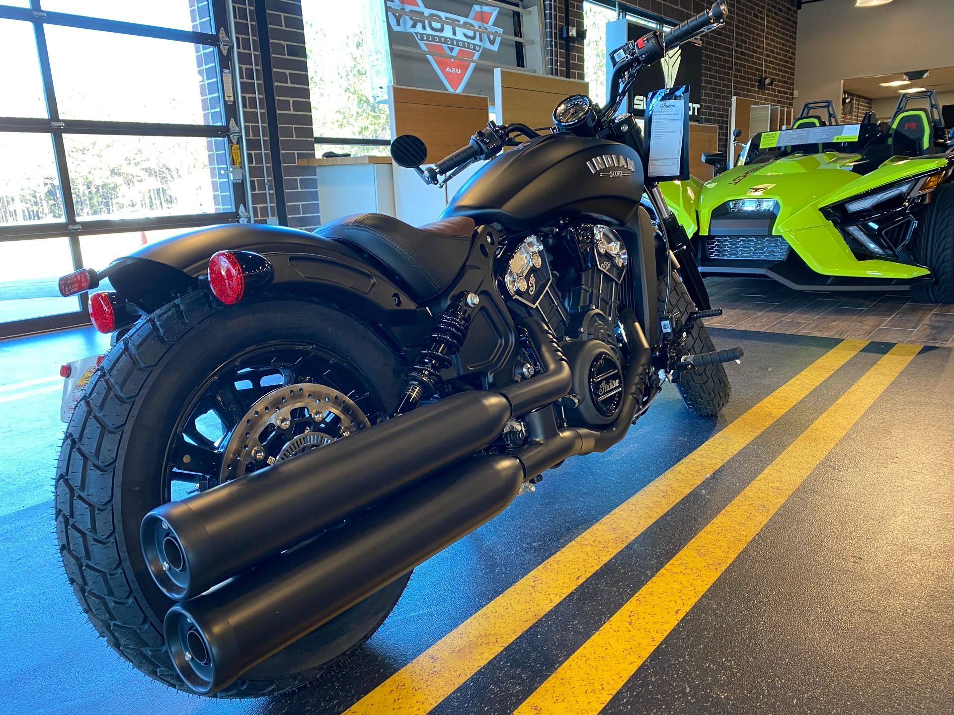 2021 Indian Scout® Bobber ABS in Buford, Georgia - Photo 4
