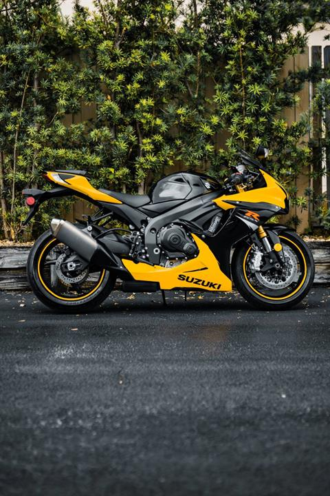 2017 Suzuki GSX-R750 in Boca Raton, Florida - Photo 1