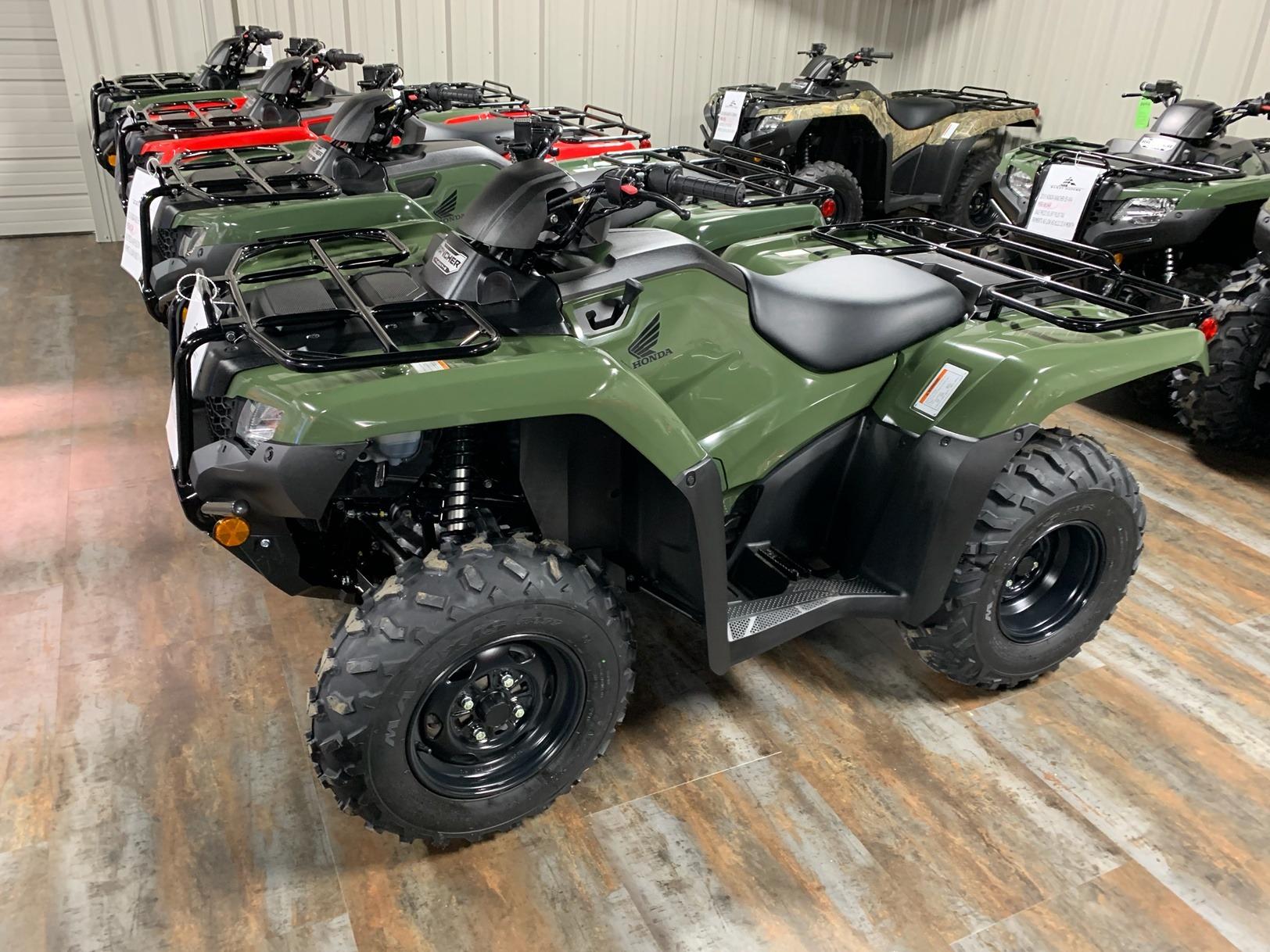 2019 Honda FourTrax Rancher 4x4 in Purvis, Mississippi