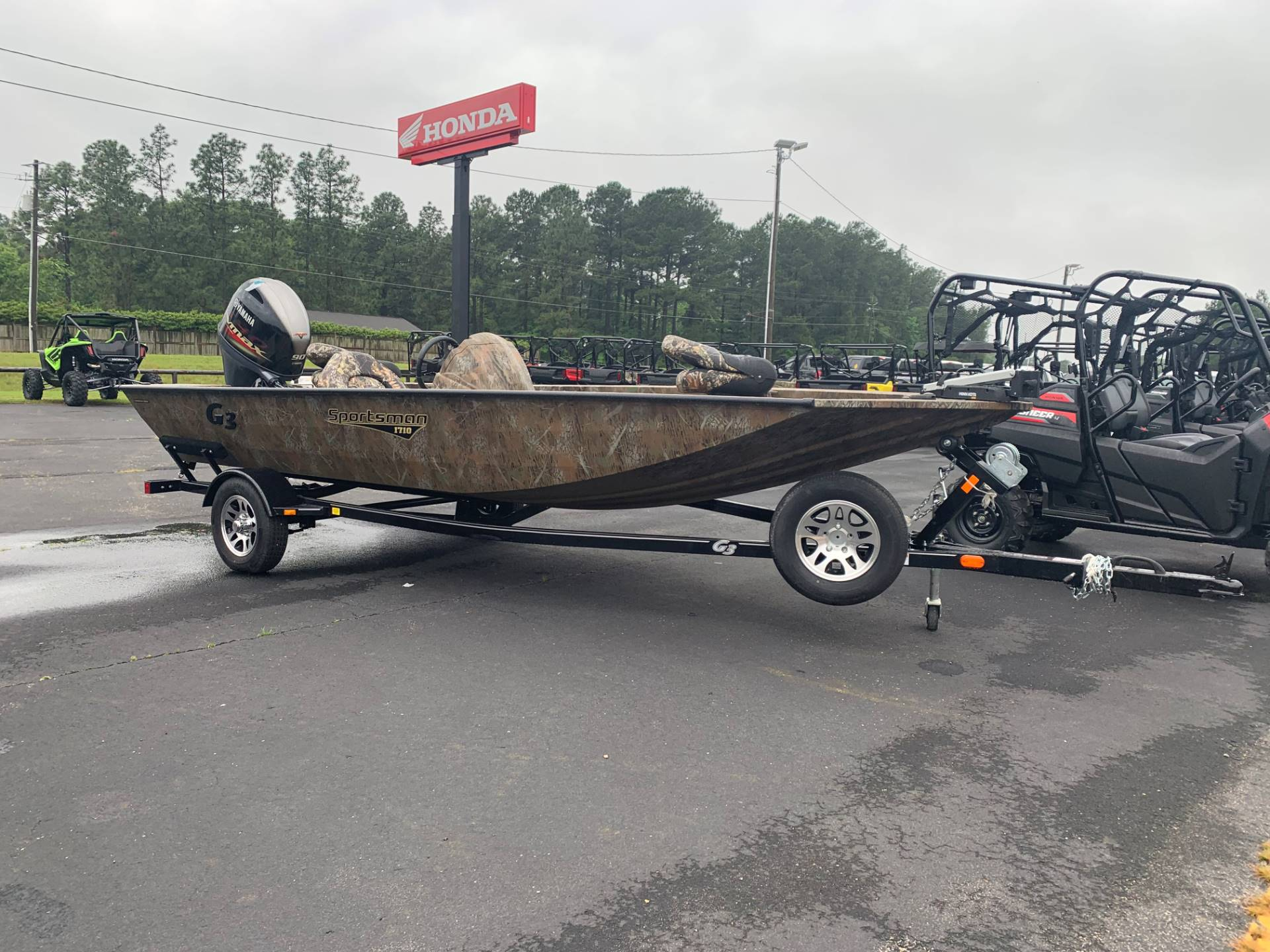 2019 G3 Sportsman 1710 PFX Camo in Purvis, Mississippi - Photo 1