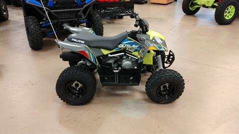 2021 Polaris Outlaw 110 EFI in Unionville, Virginia - Photo 1