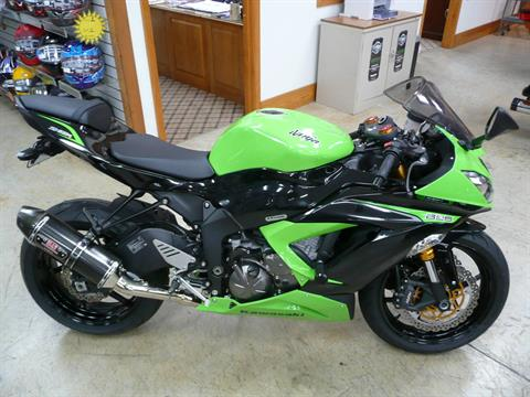 2013 Kawasaki Ninja® ZX™-6R in Unionville, Virginia