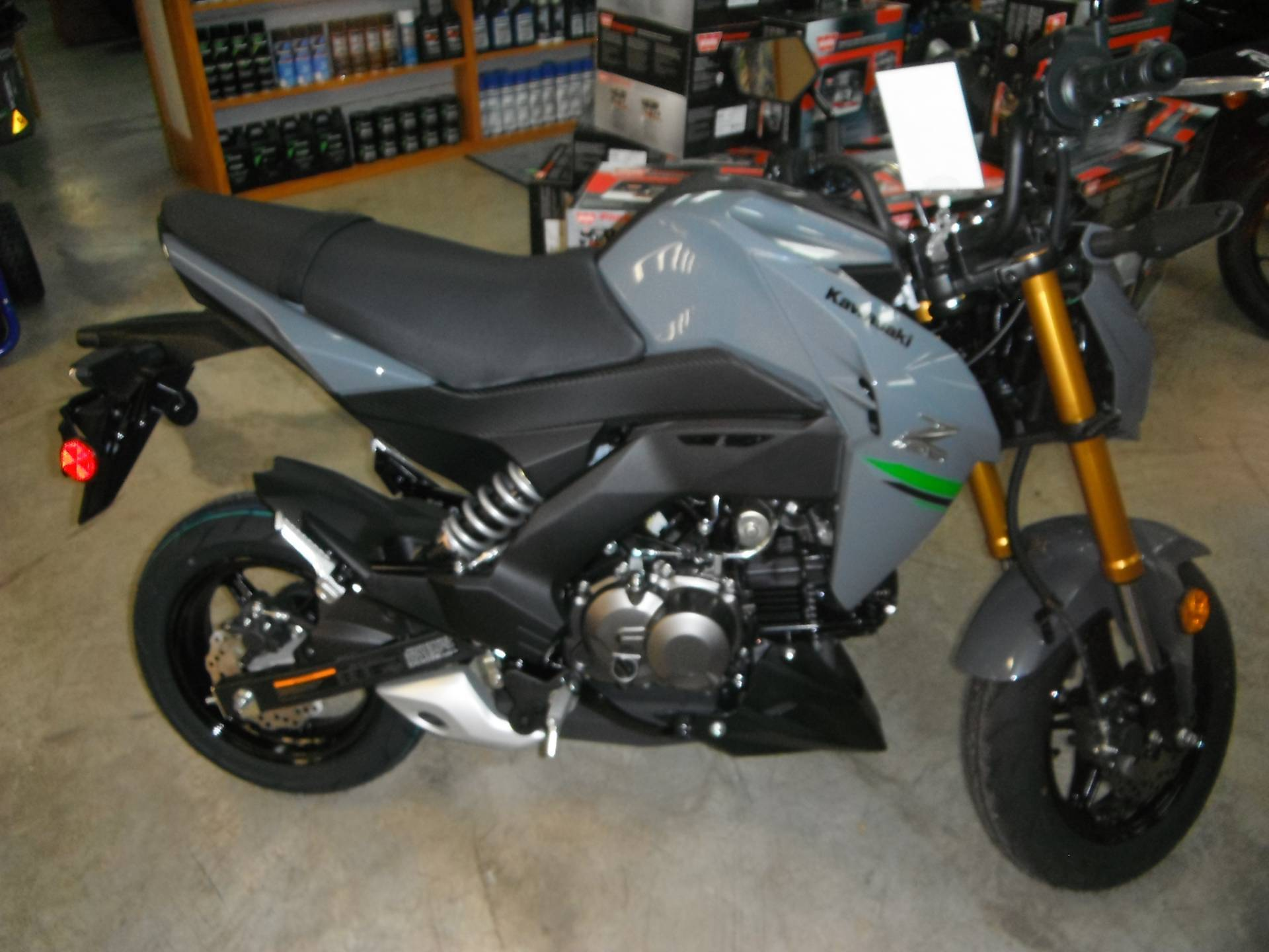 2020 Kawasaki Z125 Pro in Unionville, Virginia - Photo 1