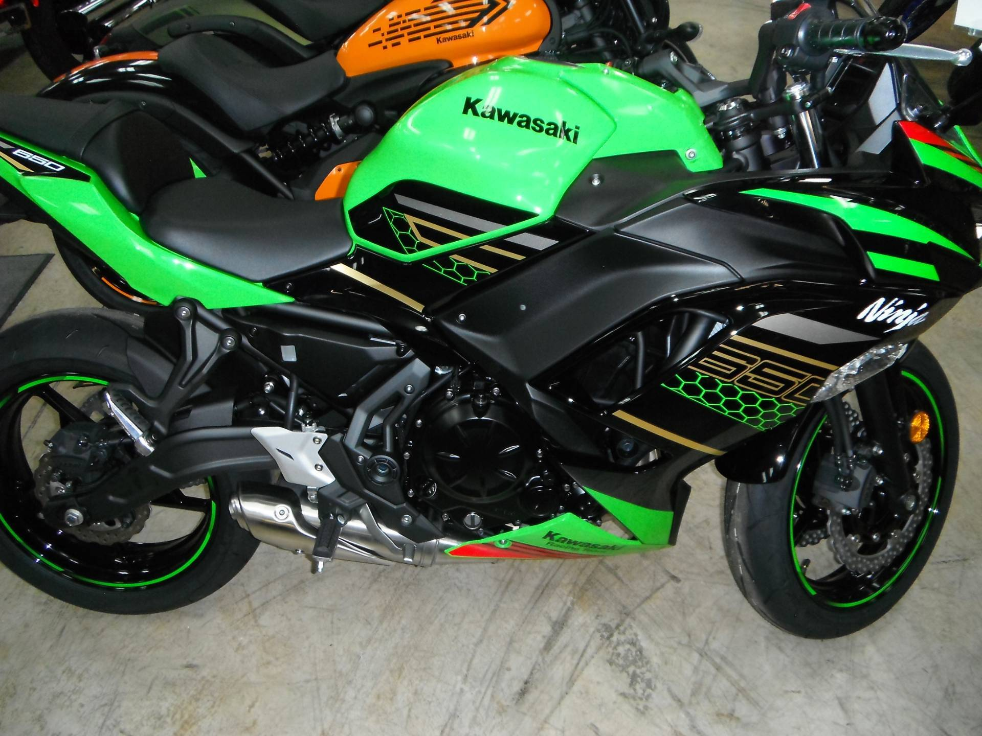 2020 Kawasaki Ninja 650 ABS KRT Edition in Unionville, Virginia - Photo 1