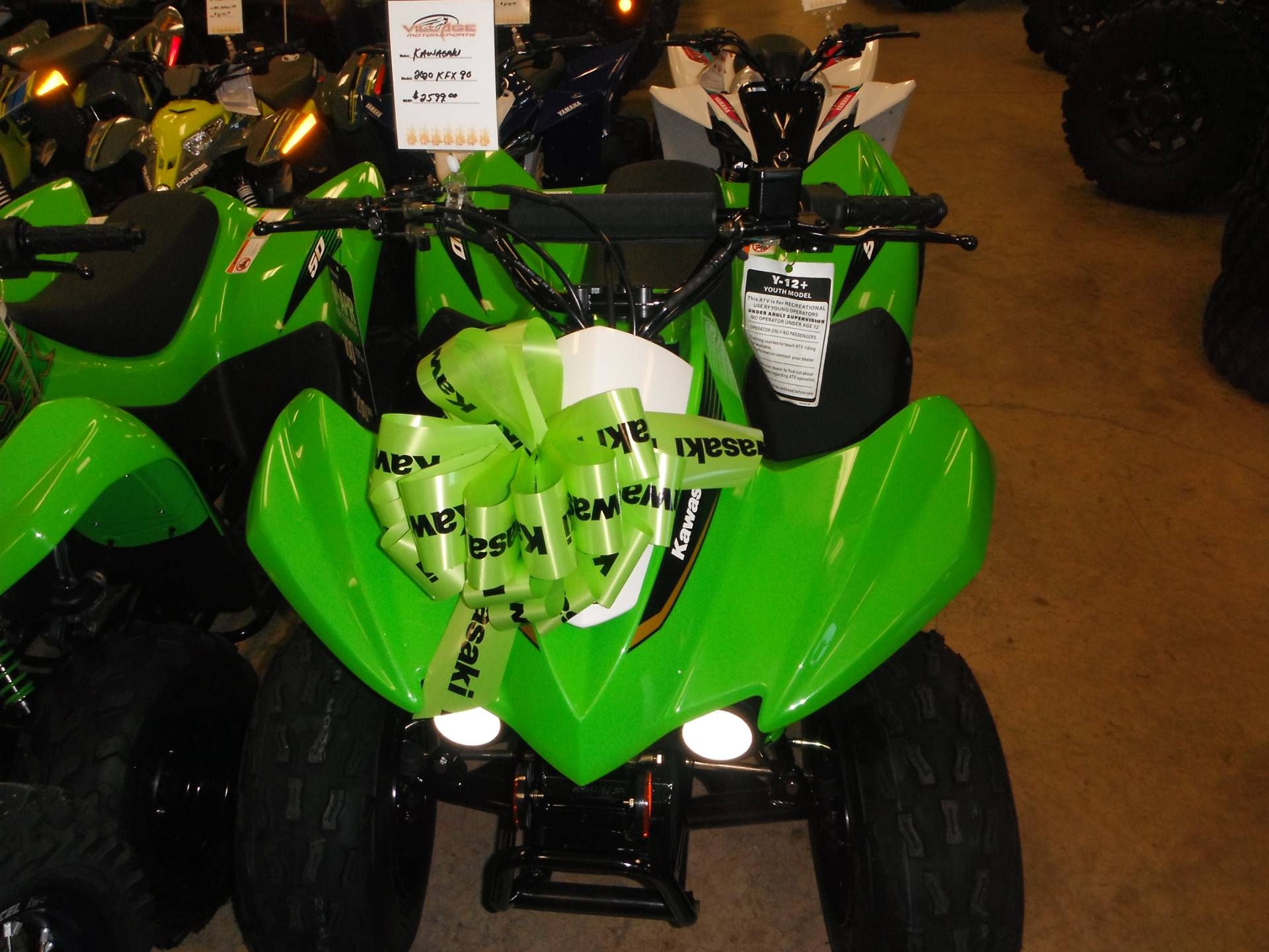 2020 Kawasaki KFX 90 in Unionville, Virginia - Photo 4